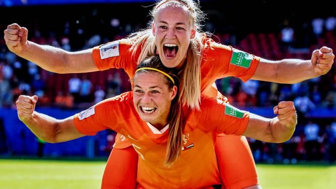 De mooiste foto's van Oranje op weg naar de halve finale in Lyon