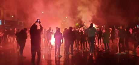 Volksfeest barst los in Deventer na promotie Eagles, ME grijpt in bij stadion van De Graafschap