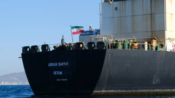 Iraanse olietanker vertrokken uit Gibraltar