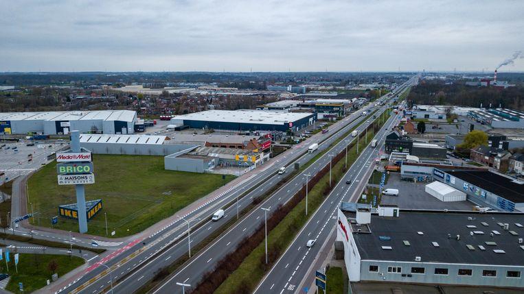 Amper verkeer op de A12 in Wilrijk