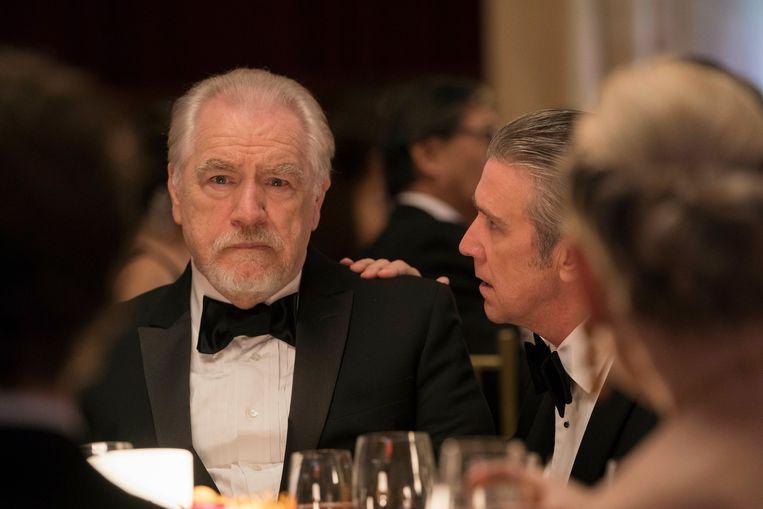 Onder meer de bejubelde HBO-reeks 'Succession' (foto) bekroond met de Emmy Award voor Beste TV-serie, is via Telenet Play te bekijken.