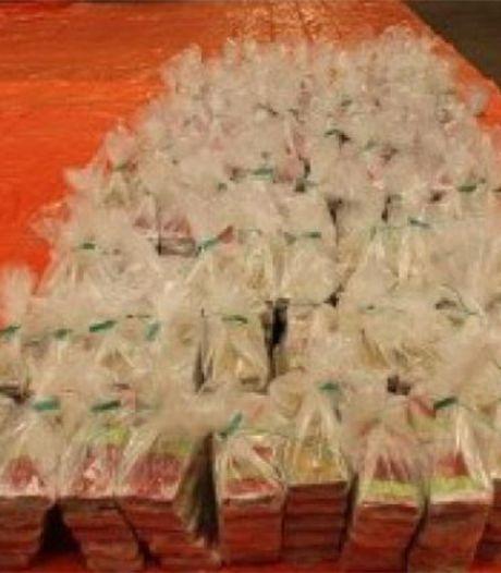 1100 kilo coke onderschept in lading ananassap