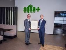 """Aqua+ in Goor krijgt Predicaat Koninklijk: """"Dit is de kroon op ons familiebedrijf"""""""
