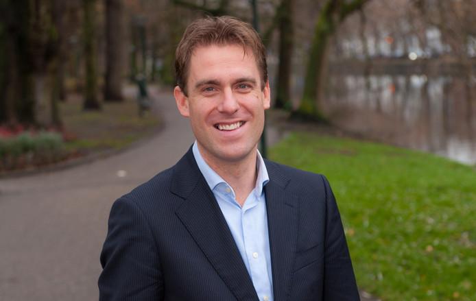 CDA-fractievoorzitter Huibert van Rossum.
