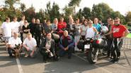 Zondag motortreffen voor vzw Dierengeluk