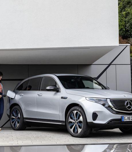 EQC: de eerste Mercedes zonder uitlaatgas