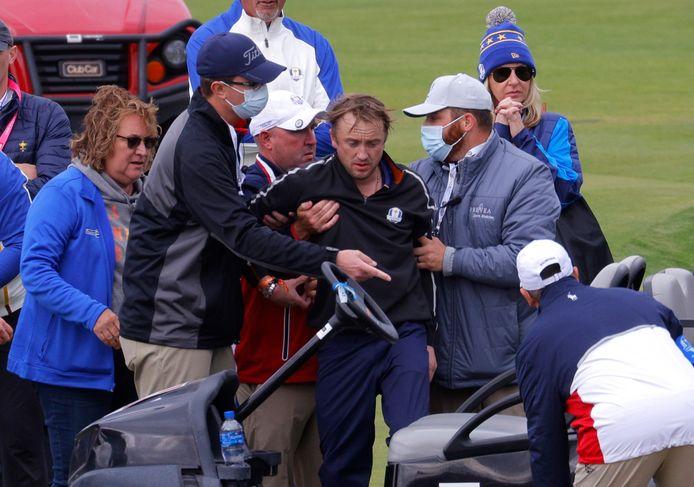 Harry Potter-acteur Tom Felton onwel tijdens golfevenement