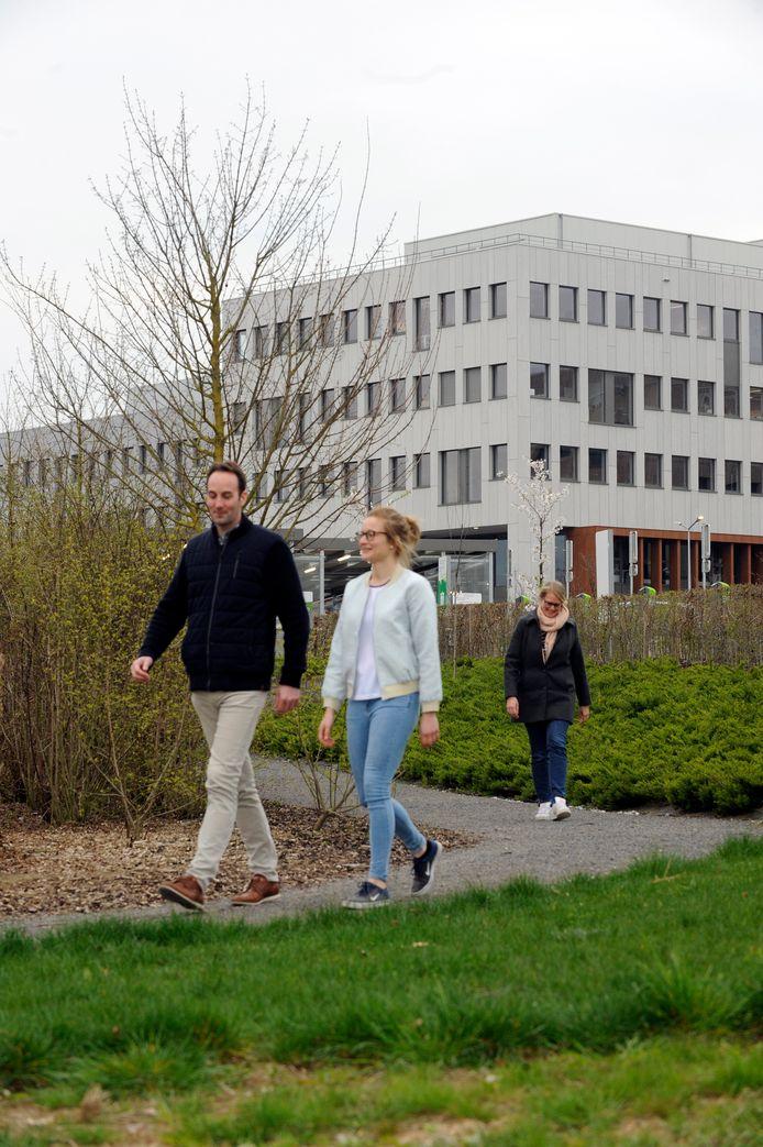 Het AZ Sint-Lucas in Brugge ziet haar patiënten liever in het natuurgebied dan in een muffe wachtzaal.