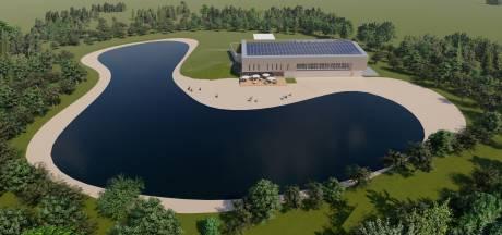 Nieuw binnenzwembad met horeca aan het water in Bladel