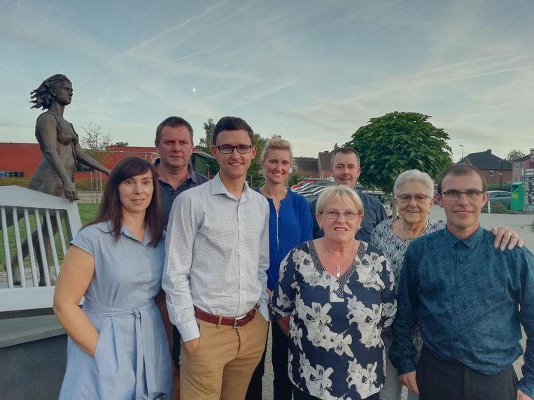 De acht kandidaten voor Open Vld.