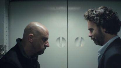 Het geheim achter de grote liftscène met Tom Van Dyck in 'Over Water'