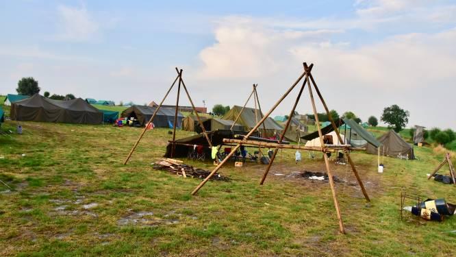 """Kamp KSA Mortsel ontruimd na stortregens in Dranouter: """"We zaten eerst bijna in de Ardennen. Maar ook plan B bleek niet zo'n goed idee"""""""