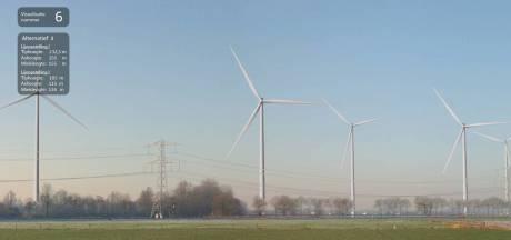 Kijk en vergelijk: zo komen de windturbines tussen Zetten en Dodewaard eruit te zien