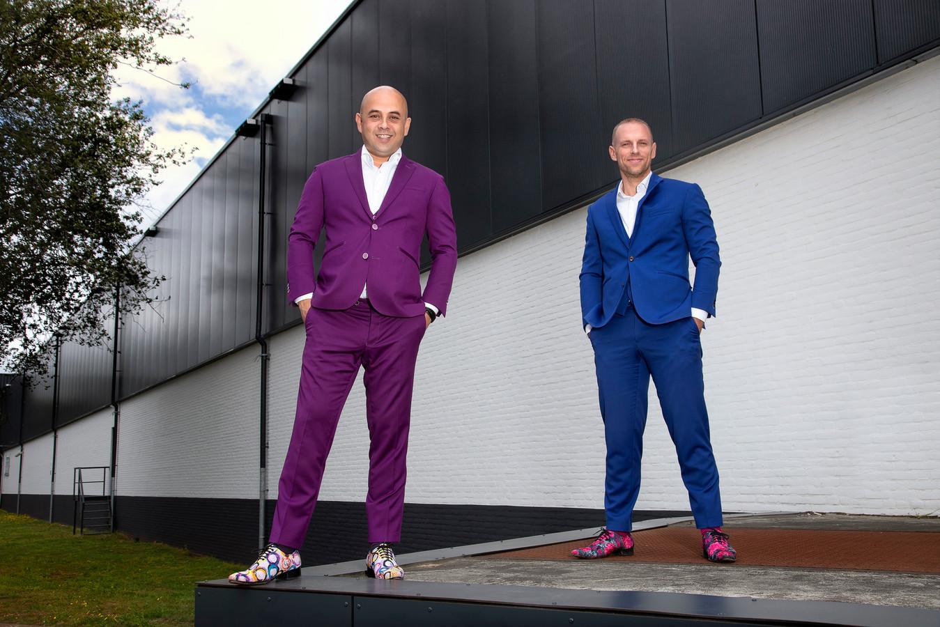 Remco van Uffelen (links) en Tjalle Brouwer.