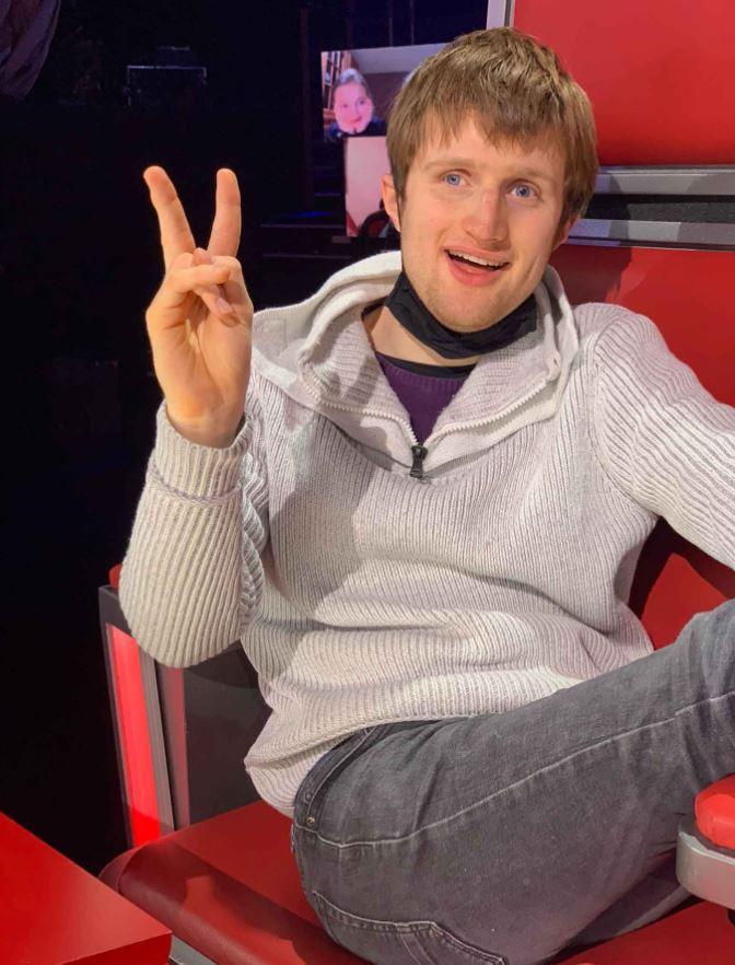 """Lou dans """"The Voice Belgique"""""""