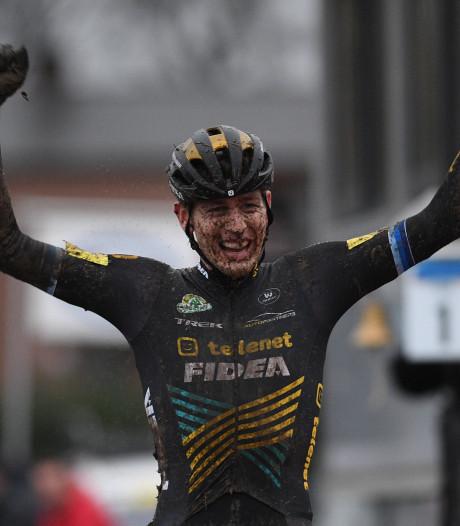 Aerts stoot Van Aert van de troon met eerste Belgische titel