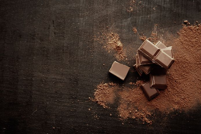 In pure chocolade zitten anti-oxidanten.