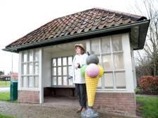Geen ijswinkel in het praathuisje in Dreischor, Ria de Ruiter geeft haar plan op