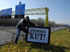 Lijsttrekker Ralph Posset doet ludieke oproep aan Bosschenaren: 'Stemmen KUT'<br><br>