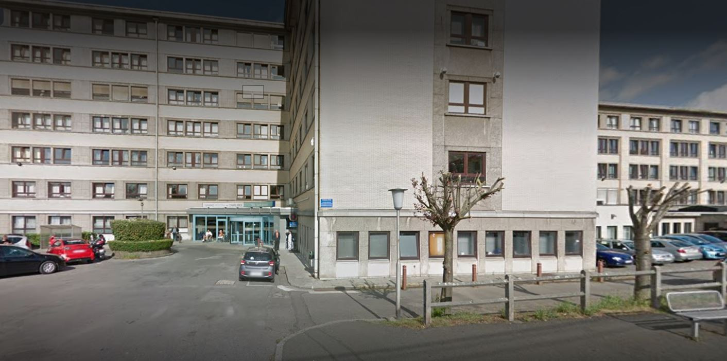 Hôpital Saint-Joseph à Gilly (Charleroi)