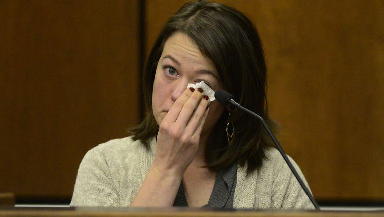 """Michelle Wilkins kwam getuigen in de rechtbank: """"Ik kon enkel nog aan Aurore denken en voor haar vechten."""""""