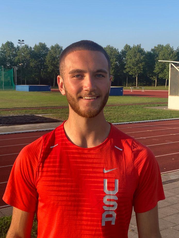 Daan Roosenschoon, atleet GVAC
