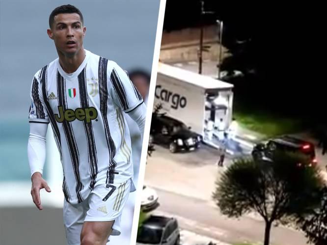 Een teken aan de wand? Cristiano Ronaldo laat luxewagens uit Turijn weghalen