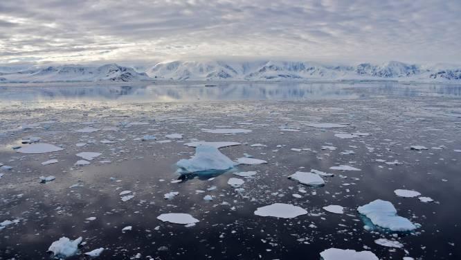 Warmterecord op continent Antarctica naar beneden bijgesteld
