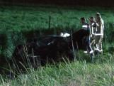 Dode en zwaargewonde bij eenzijdig ongeval bij Ossenisse
