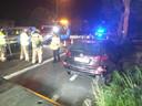 Twee wagens van hetzelfde gezin werden in de prak gereden.