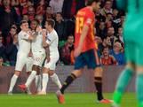 Spanjaarden tegen Engeland voor het eerst in vijftien jaar thuis onderuit