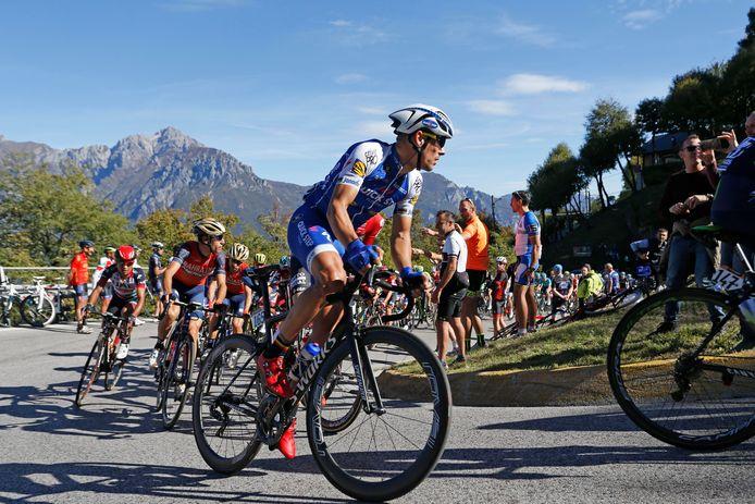 Philippe Gilbert tijdens de 111e editie van de Ronde van Lombardije