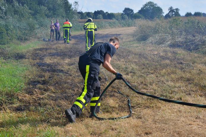 Brand aan de Effenseweg in Breda.