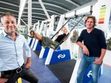 Oplaadschommel op stations gaan vanuit Nieuwegein de hele wereld over