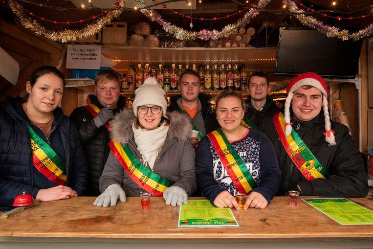 De chaletuitbaters, waaronder studentenvereniging Moeder Bladluis, zijn tevreden over Winter in Poperinge 2018.