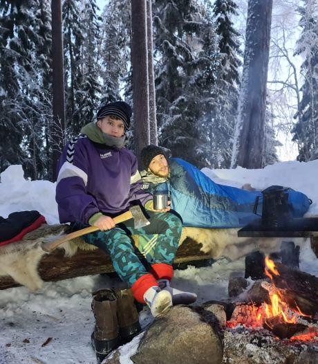 Devin (26) overleeft week lang zonder eten en drinken in de Zweedse wildernis: 'Ik kon een tijd niet lopen'