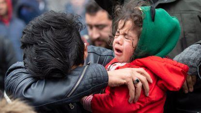 Rellen aan Turks-Griekse grens