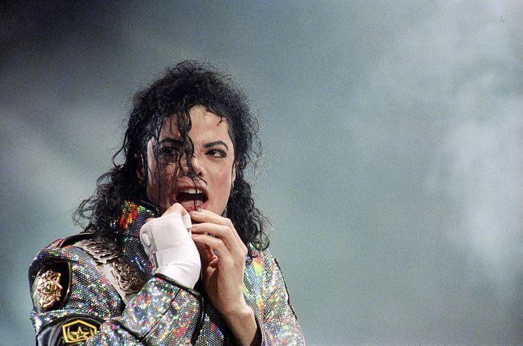 Michael Jackson in Leaving Neverland, de documentaire over het vermeende kindermisbruik.  Beeld ANP