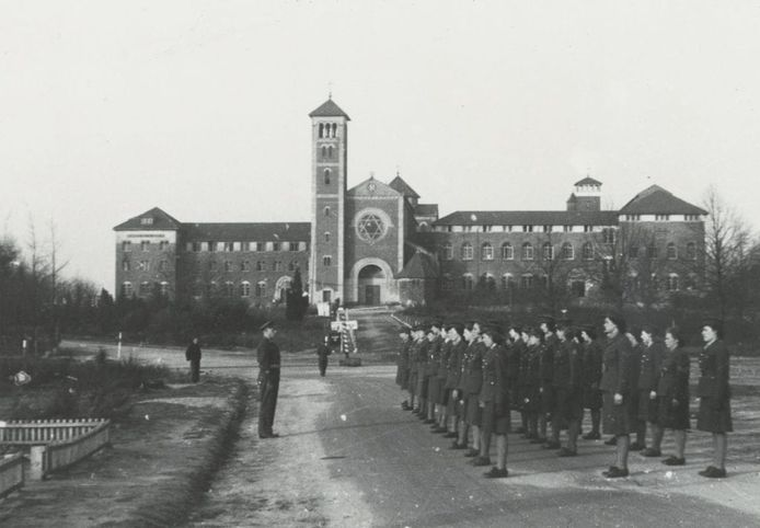 Militair Hospitaal Nebo klooster, 1946.