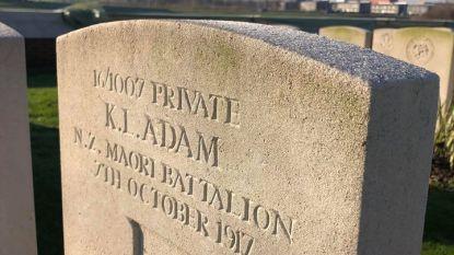 Remembrance voor enige in België begraven Cookeilander