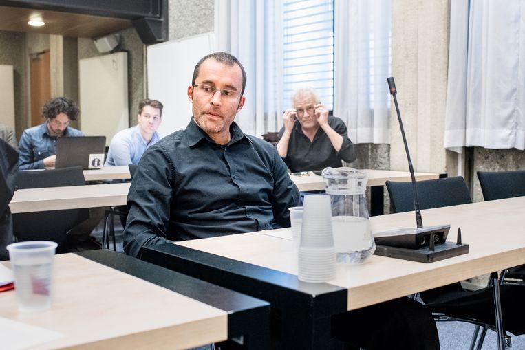 Rogier Meijerink donderdag in de rechtbank van Amsterdam. Beeld Simon Lenskens