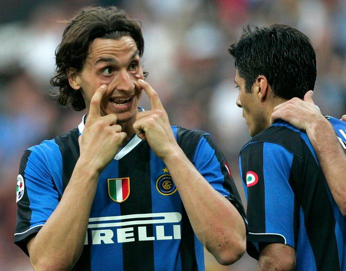 Als spits van Inter in 2007.