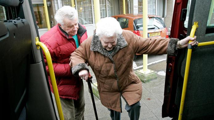 Het initiatief richtte zich op het vervoer van buurtgenoten met een mobiliteitsbeperking.