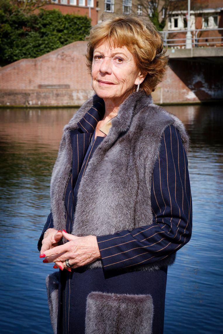 Neelie Kroes: 'Na het kreunen en steunen, zullen ook de andere fractieleiders over hun schaduw heen moeten stappen.' Beeld Marlies Wessels