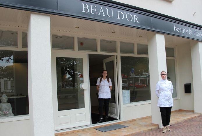 Het grote nieuwe onderkomen van Beau D'or bij de Veghelse passantenhaven.