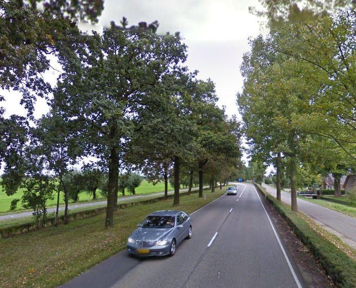 N484 tussen Leerdam en Schoonrewoerd