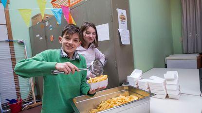 Lekkere zelfgemaakte frietjes bij Wilgenduin