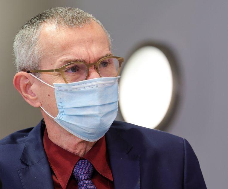 Federaal minister van Volksgezondheid Frank Vandenbroucke. Beeld EPA