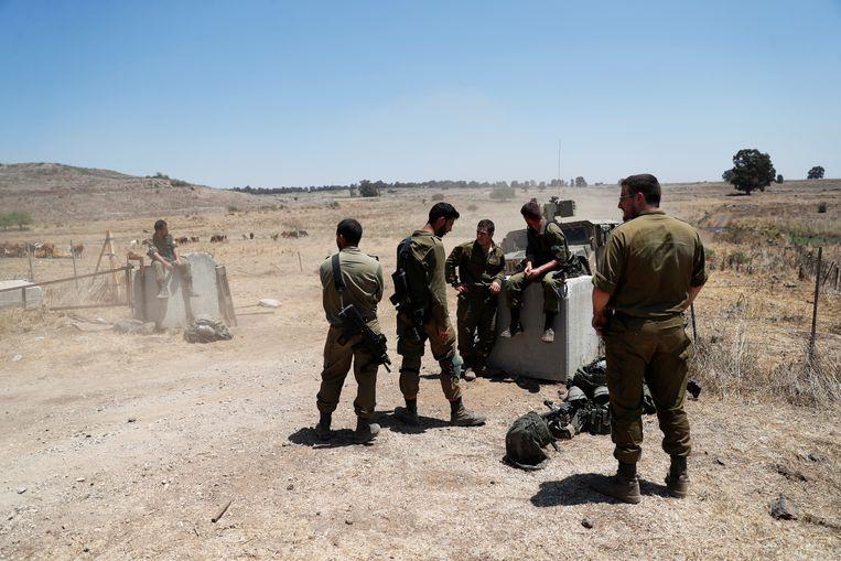 Israëlische soldaten (foto ter illustratie). Beeld REUTERS