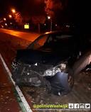 Niemand te bekennen na ongeluk in Waalwijk